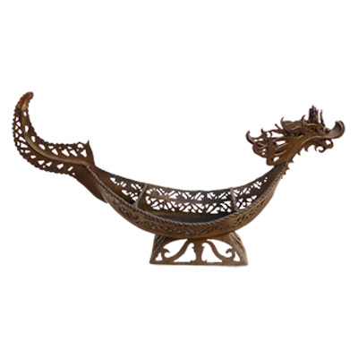 Indonesian Tribal Art, Metal Sculpture