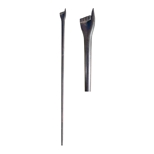Dayak (Iban) ebony walking stick with hand