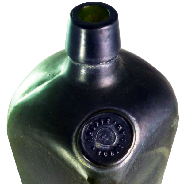 Mould blown sealed case gin