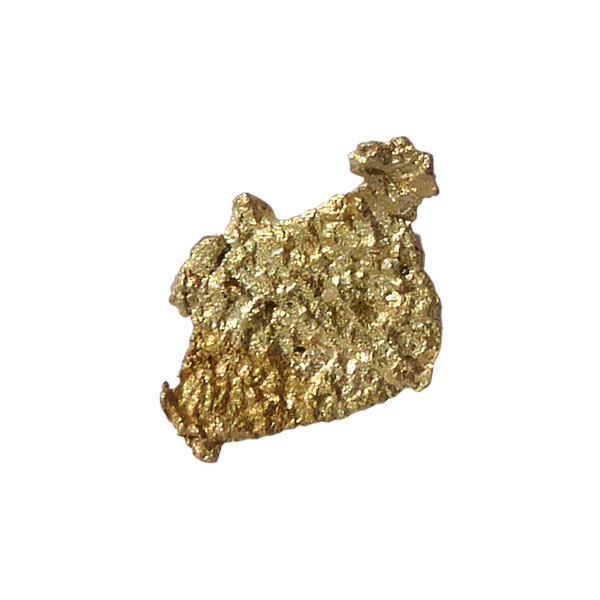 0.61 gm gold nugget from the Honey Camp Goldfield Issano Mazaruni District, Guyana
