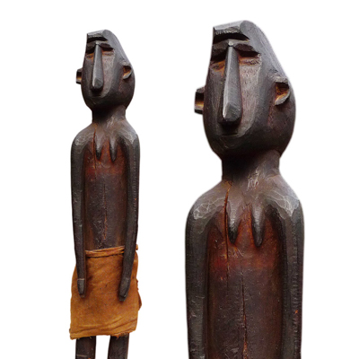 Atauro female ancestor figure