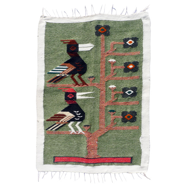 Peruvian Andes decorative textile panel