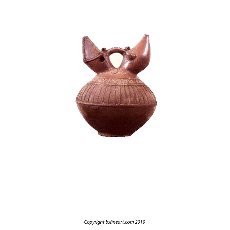 Kroe earthenware water carrier or kendi