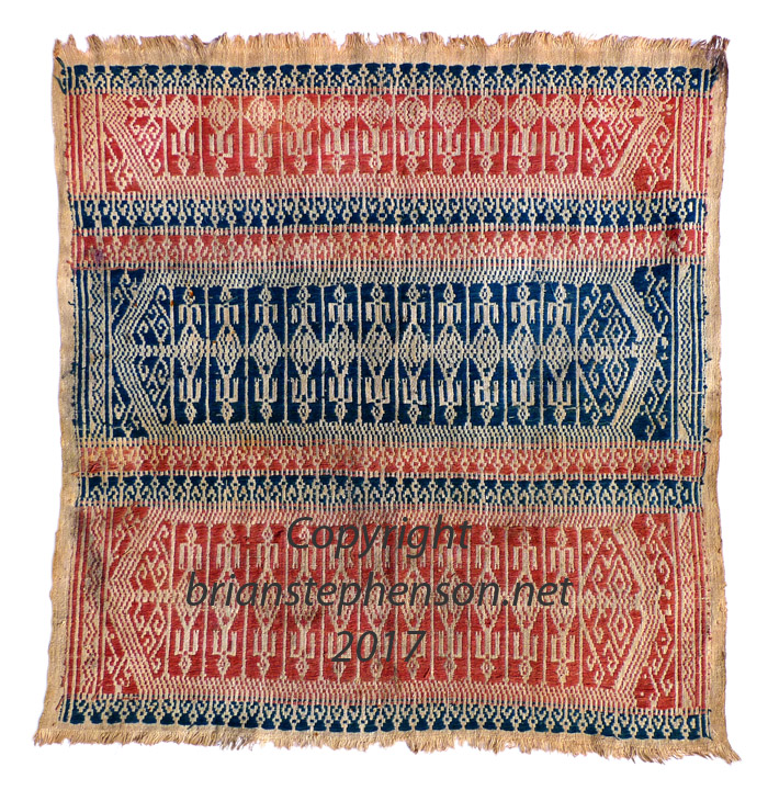 South Sumatra Kroe ceremonial cloth (Tampan)
