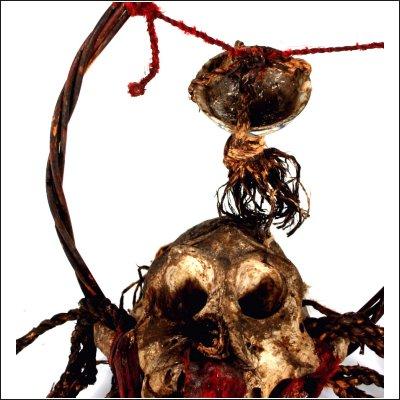 Dayak ritual garland