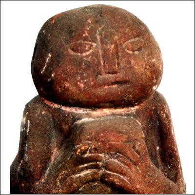Dayak shamanic stone charm