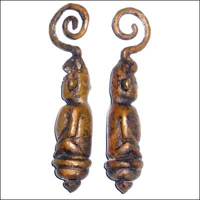 Pair of Dayak Earings